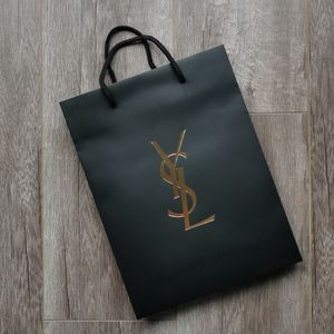 YSL Medium Paper Shopping Bag